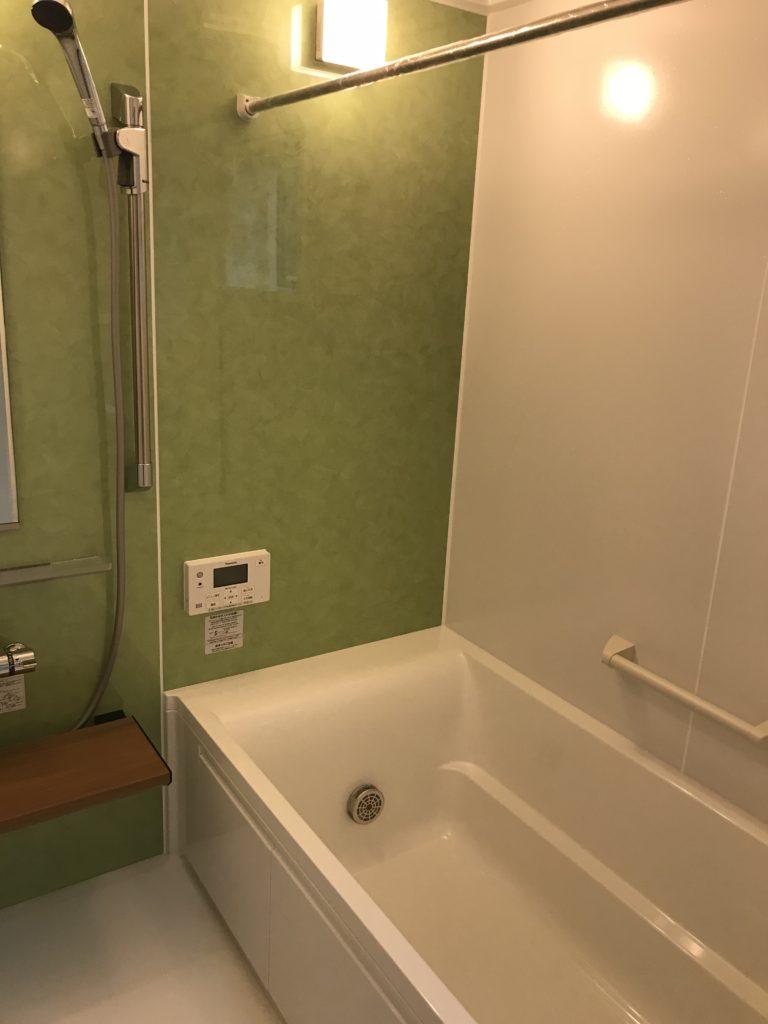 オシャレな浴室1